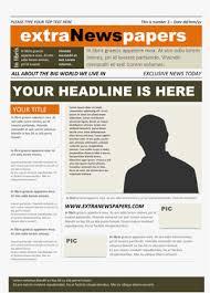 newspaper template free microsoft word newspaper template