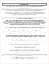 Resume Writing Certification Online by Technical Writer Resume Resume Name