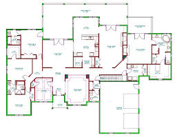 split bedroom ranch floor plans home design modified bi level house plans edesignsplansca 1