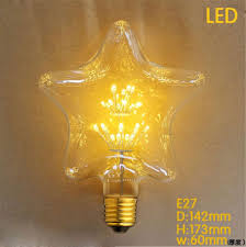 a19 g95 five 2300k led 3w e27 edison tree light bulb