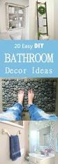 bathroom diy ideas best 25 diy bathroom decor ideas on pinterest bathroom storage