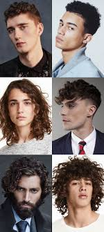 hairstyles for thin wiry curly hair men dealing with men s thick wavy unruly hair fashionbeans
