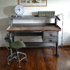 Wood Desk Ideas Cool Industrial Desks Ideas Photos Awesome Best Industrial Style