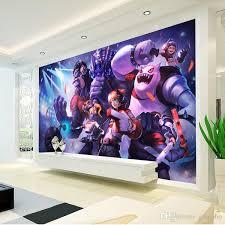 league of legends photo wallpaper game wall mural custom silk