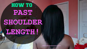 grow relaxed hair past shoulder length my hair story tips
