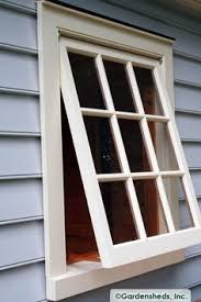Awning Style Windows Awning Windows Window For Garden Shed Push Out Window Hinged
