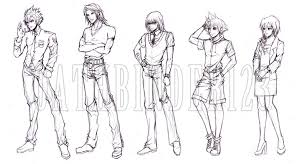 sketches for kingdom hearts character sketches www sketchesxo com