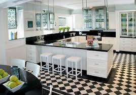deco cuisine noir et blanc cuisines cuisine deco interessante moderne osez la décoration