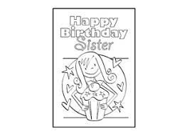 birthday card design template happy birthday sister ichild