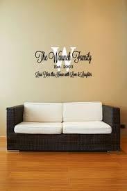 custom initials vinyl decal vinyl lettering wall art decal