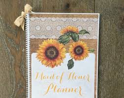 of honor planner book of honor wedding planner book wedding organizer