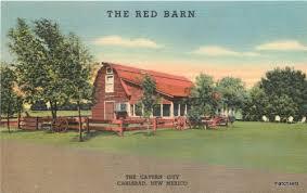 Red Barn Restaurant 1940s Carlsbad New Mexico The Red Barn Restaurant Roadside