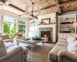 farmhouse livingroom best 15 farmhouse living room with a fireplace ideas