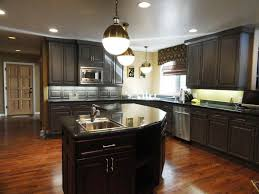 some dark cabinet kitchens designs ideas