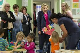 hillary clinton s childhood fact check did hillary clinton introduce a new approach to early