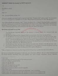 Dd Cancellation Letter Format Bank Of India cancel a lost demand draft dd of icici bank india ltd bolo indians