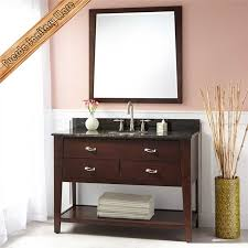 All Wood Bathroom Vanities Solid Wood Bathroom Cabinets Wts26777 Luxury Mirrored Furniture