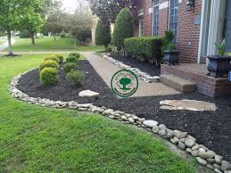 landscape wonderful rock landscaping ideas appealing green and
