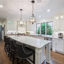 corner kitchen island corner island prep sink design ideas