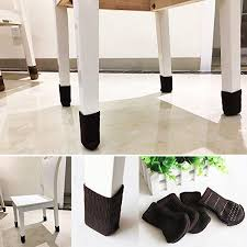 Chair Leg Covers To Protect Floor Chair Socks Outgeek 24 Pcs Knitted Furniture Feet Socks Chair Leg