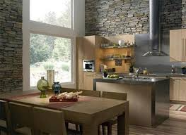 Stone On Walls Interior 15 Natural Kitchen Designs With Stone Wall Rilane