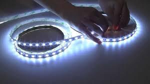 Led Flexible Light Strip by Flexible Led Light Strips Youtube