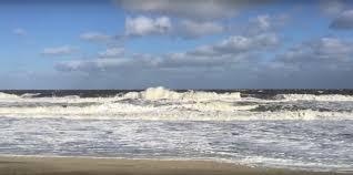 huge waves bradley beach nj coastal storm hurricane joaquine