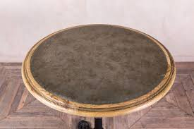 Zinc Top Bistro Table Round Bistro Table In Zinc Or Copper Peppermill Interiors