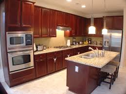 Granite Countertops With Cherry Cabinets Kitchen2 Jpg