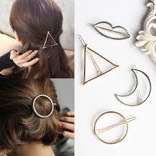 hairpin clip aliexpress buy vintage circle lip moon triangle hair pin