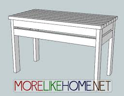 more like home day 15 build a simple storage table