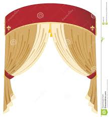 Gold Curtain Vector Red And Gold Curtain Royalty Free Stock Images Image 8381579
