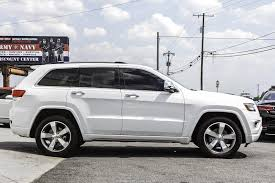 survival jeep cherokee 2014 jeep grand cherokee overland stock 433666 for sale near