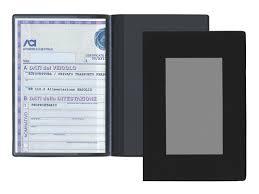 porta documenti auto vendita e fornitura di portadocumenti 2 ante in tam per auto e