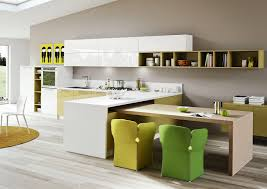 Colorful Dining Chairs by Kitchen Designs That Pop