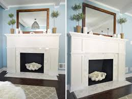 mantelpiece displays mirror above fireplace mantel mirror over