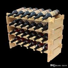 best wooden wine rack diy assemble wine shelf wood holders