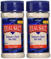sea salt equivalent to table salt amazon com redmond real sea salt natural unrefined organic