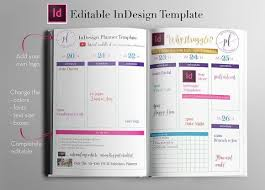 day planner template indesign weekly calendar indesign template indesign templates and template