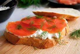 Cottage Dill Bread by Smoked Wild Salmon Dill And Cottage Cheese On A Sandwich Eat In