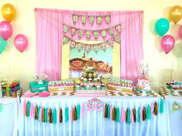 how to decorate birthday table party table decorations thecoursecourse co