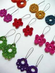 crochet hair bands colorful floral crochet hair bands fashionous