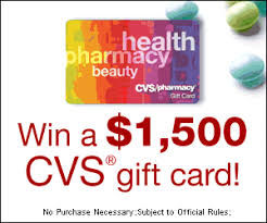 win gift cards win a 1500 cvs gift card expired
