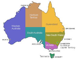 territories of australia map australian states map states and territories australia map