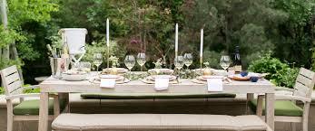 Patio Tablecloth by Entertaining With La Crema Patio Dining Tips La Crema