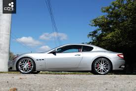 maserati granturismo white black rims cor wheels review blog and awesome client pictures