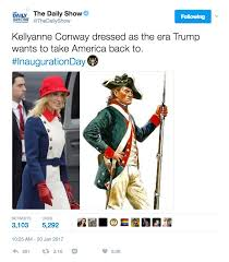 Revolutionary War Memes - kellyanne conway revolutionary inauguration outfit meme