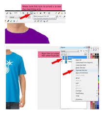 change a t shirt color in x4 photo paint corel photo paint x4