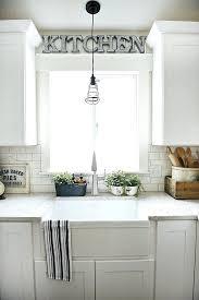 above kitchen sink decor kitchen kitchen glossy above kitchen sink