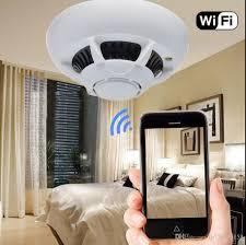 bedroom spy cams 2018 free dhl wifi hidden camera smoke detector spy cam hd 1080p